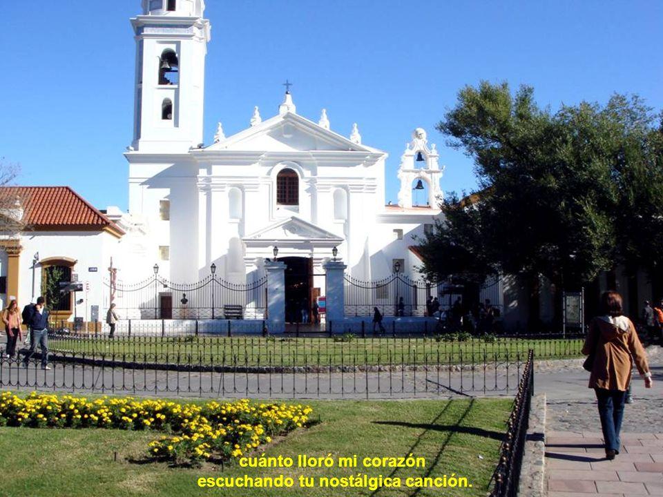 Buenos Aires, suspirando por ti bajo el sol de otro cielo,