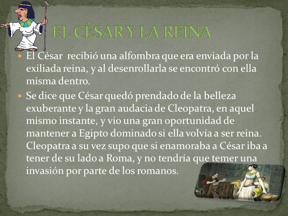 Cleopatra subió al trono en el año 51 a.C.