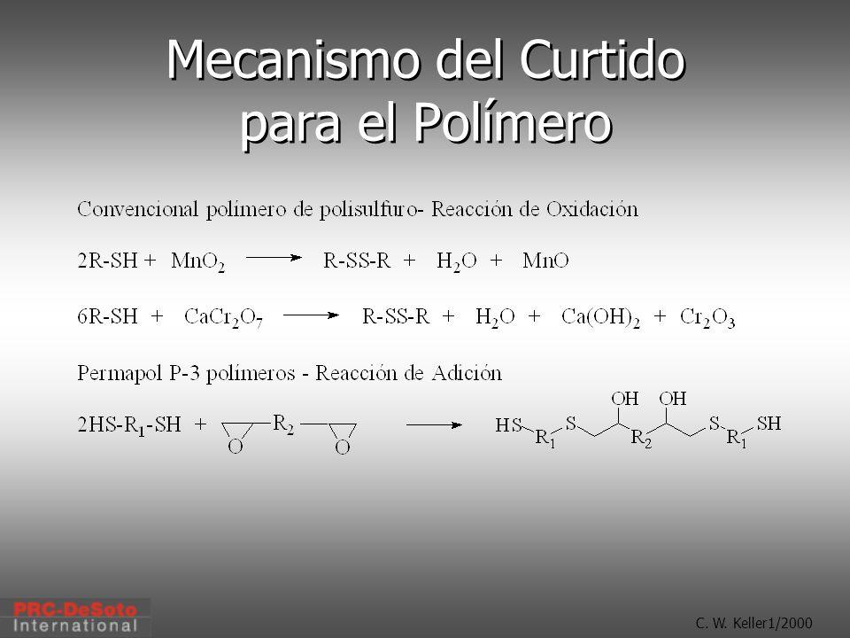 C. W. Keller1/2000 Mecanismo del Curtido para el Polímero