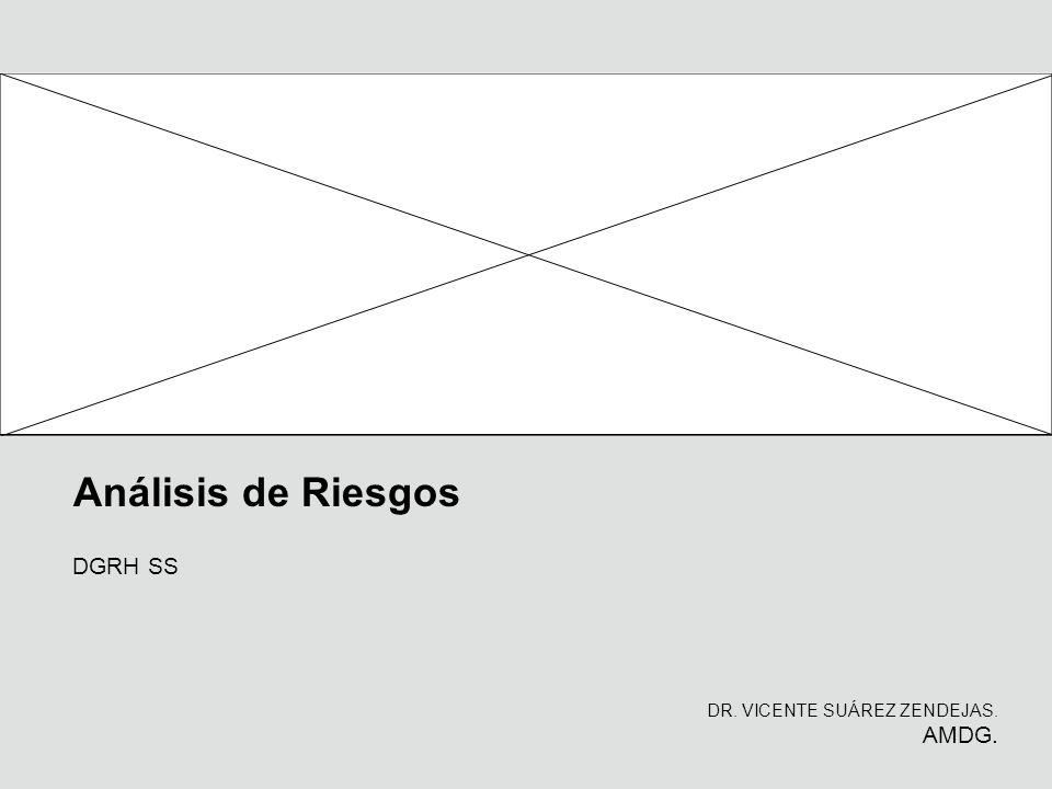 Análisis de Riesgos DR. VICENTE SUÁREZ ZENDEJAS. AMDG. DGRH SS