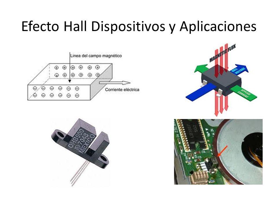 Efecto Hall Dispositivos y Aplicaciones