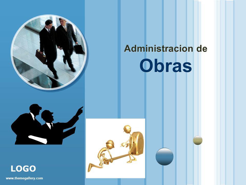 www.themegallery.com LOGO Administracion de Obras