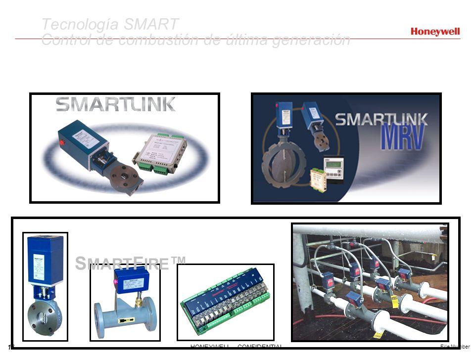 16HONEYWELL - CONFIDENTIAL File Number Tecnología SMART Control de combustión de última generación S MART F IRE