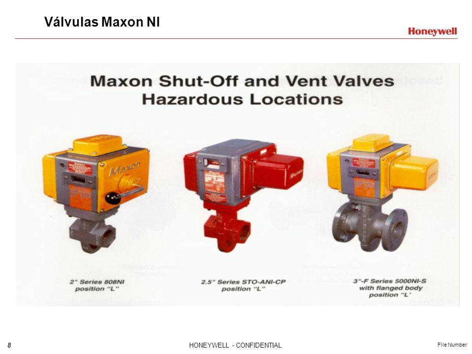 9HONEYWELL - CONFIDENTIAL File Number Valvulas Maxon ACTIONAIR Series 1210