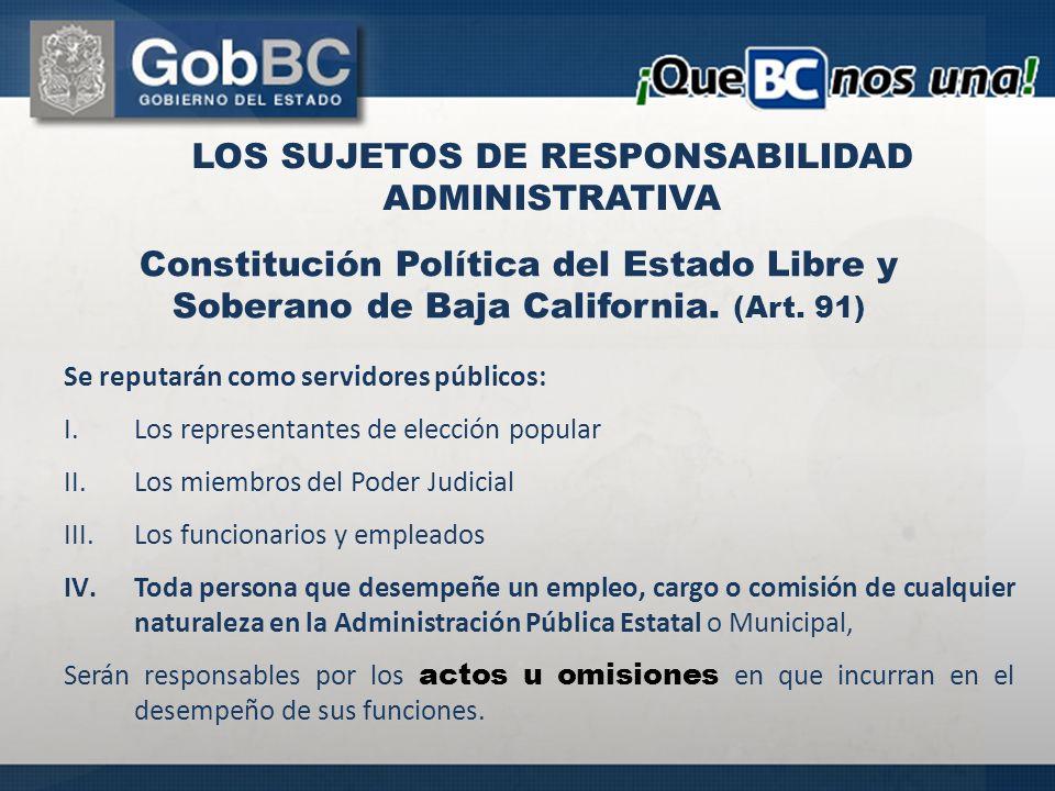 Se reputarán como servidores públicos: I.Los representantes de elección popular II.Los miembros del Poder Judicial III.Los funcionarios y empleados IV