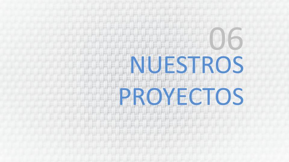 NUESTROS PROYECTOS 06