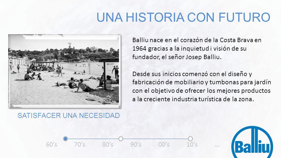 Balliu nace en el corazón de la Costa Brava en 1964 gracias a la inquietud i visión de su fundador, el señor Josep Balliu. Desde sus inicios comenzó c