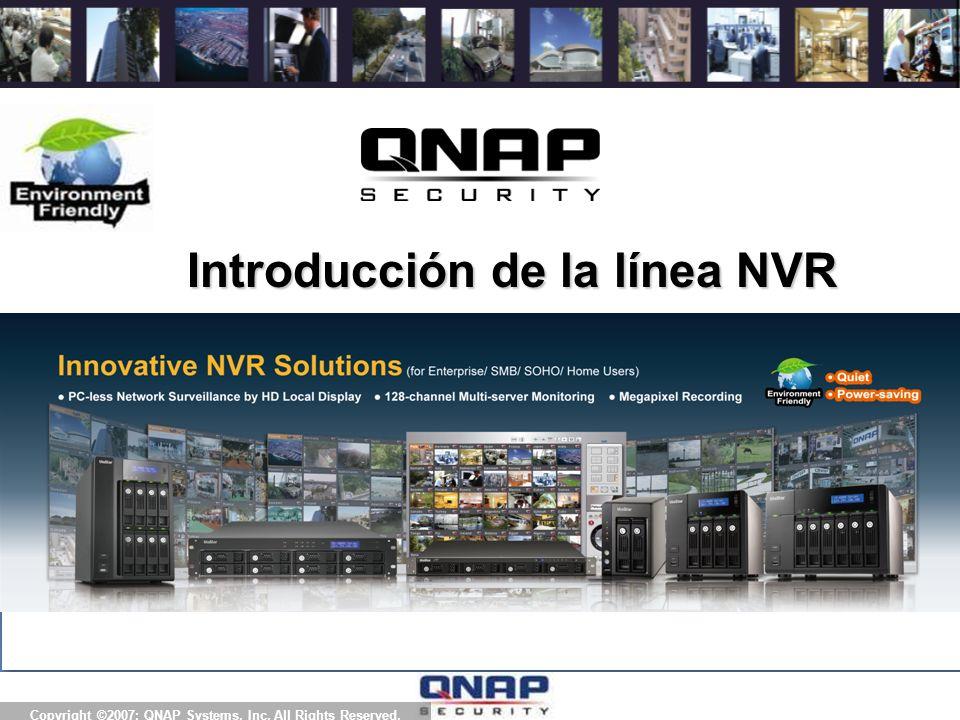 3.QNAP NVR es el primer dispositivo en Red con CMS (Sist.