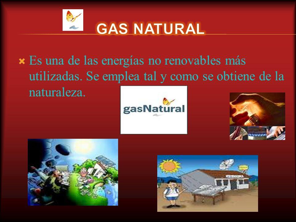 Como combustible en las centrales térmicas Uso doméstico: calefacción, cocina… Como materia prima para obtener otros productos, como: plástico, produc