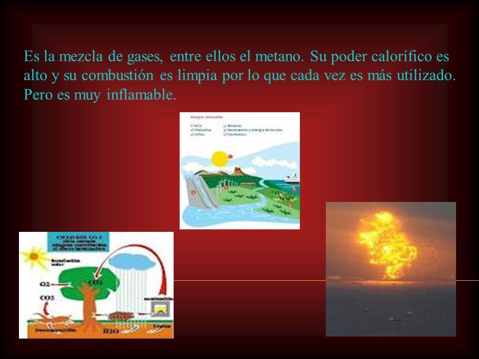 Esta energía puede sustituir al carbón y al petróleo en casi todas sus aplicaciones. Se utiliza en : La cocina y calefacción. Como combustible para de