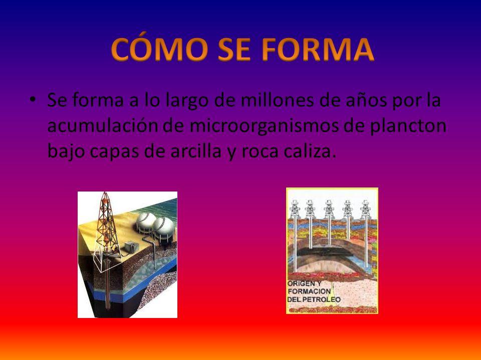 Es un combustible fósil. Es la fuente de energía más utilizada en la actualidad. Es una mezcla homogénea de compuestos orgánicos, principalmente hidro