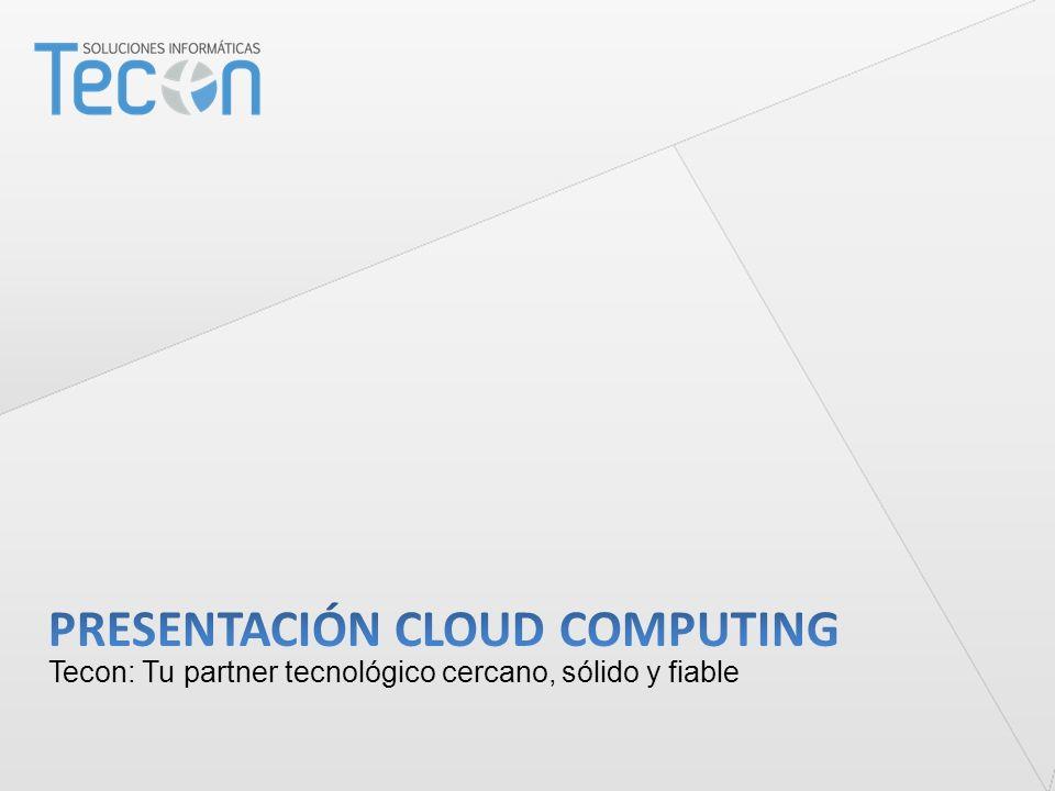 Tecon: Tu partner tecnológico cercano, sólido y fiable
