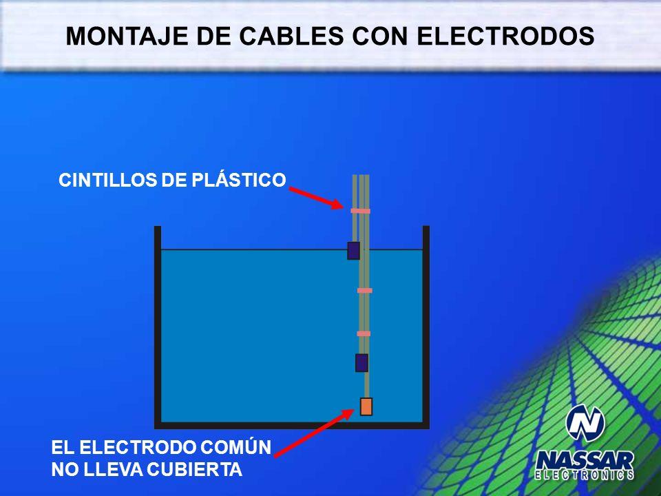 PREPARACIÓN DE CABLE DE ELECTRODOS CABLE CALIBRE 14 o 16