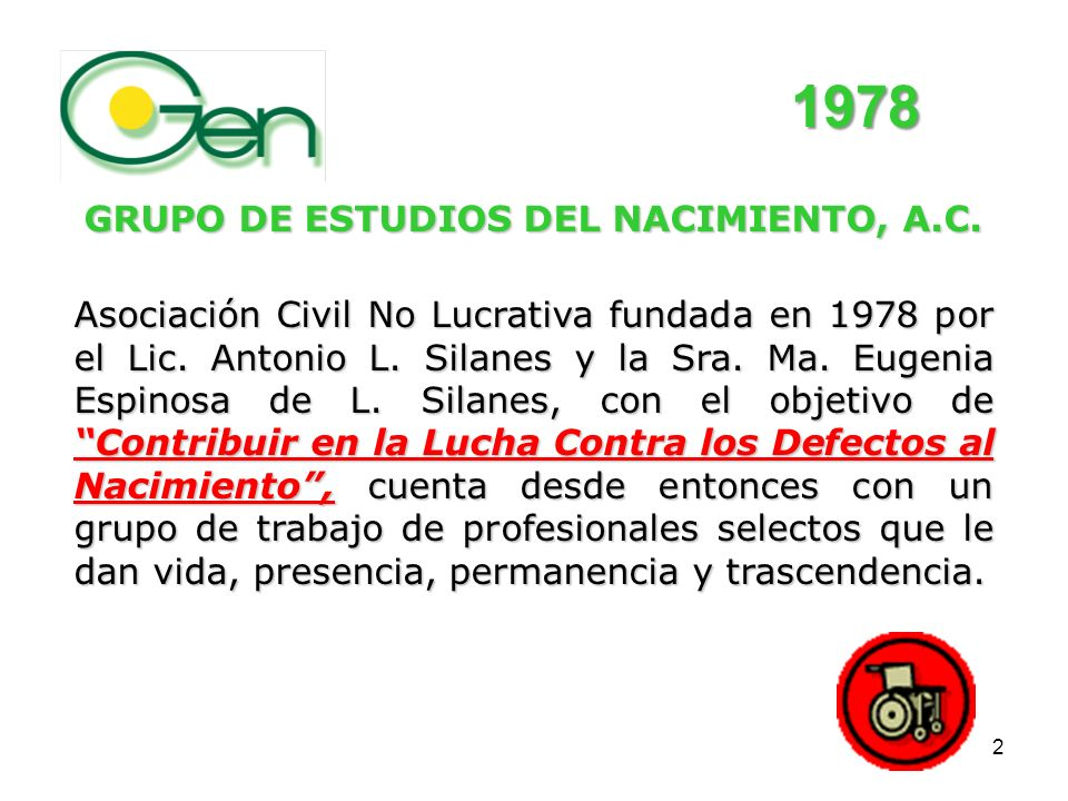 1 CENTRO DE INVESTIGACIÓN MATERNO INFANTIL CIMIGen Hospital del Niñ@ y la Madre, O.P.S – O.M.S. – S.S.A. PREVENCIÓN DE DEFECTOS AL NACIMIENTO Y DISCAP