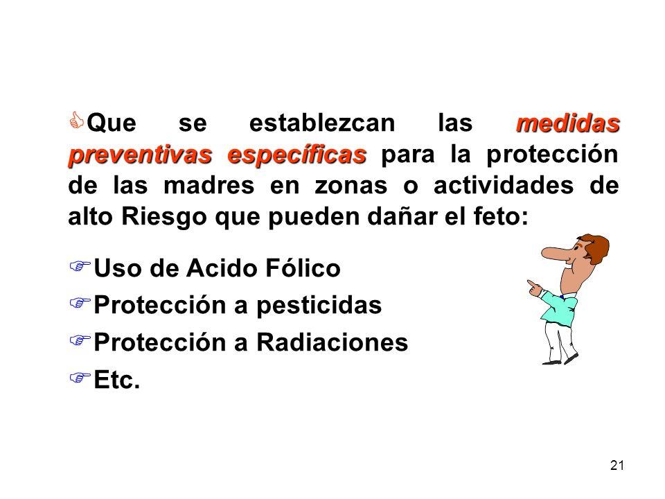 20 AVANCES Prescripción Profiláctica de Hierro y Acido Fólico. Prescripción de Medicamentos (solo con indicación Médica ) Se recomienda no prescribir
