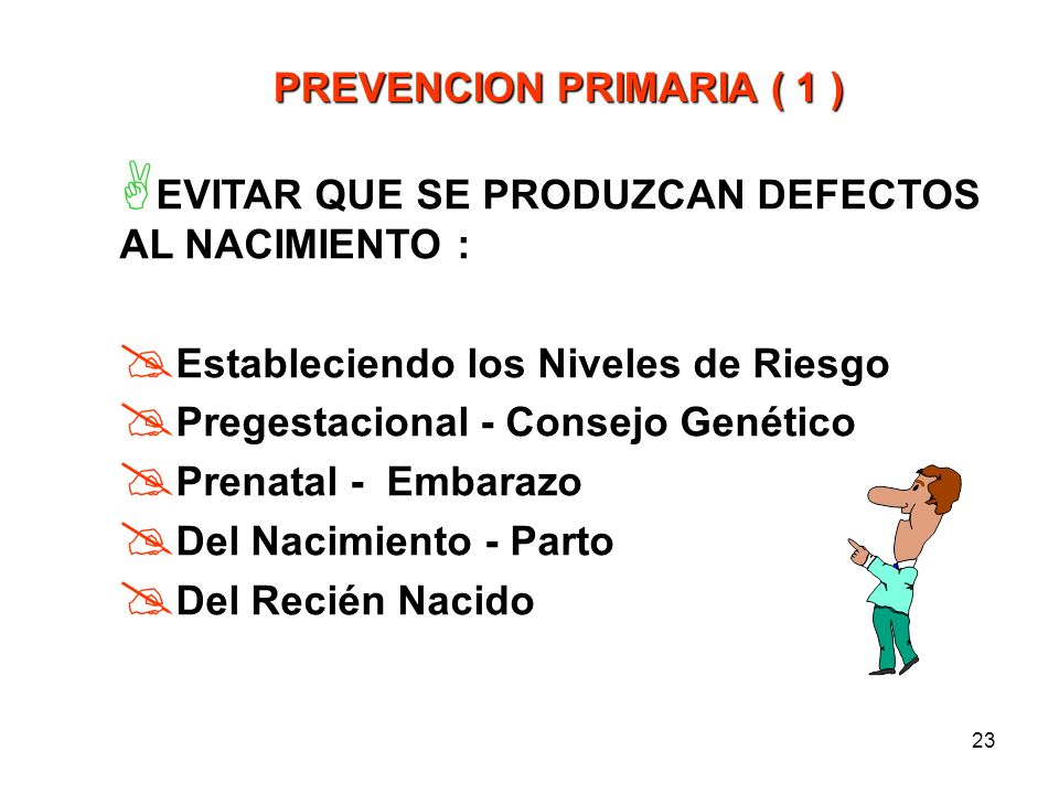 22 PROPUESTA OPERATIVA Que en todos los hospitales o lugares donde se atienden procesos de la Reproducción Humana, se establezcan criterios, reglament