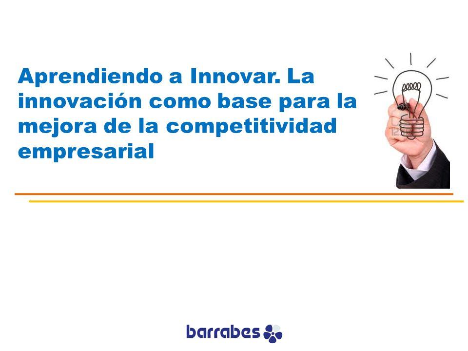 La Innovación en la empresa no puede ser un hecho aislado Debe ser una acción sistemática Debemos averiguar como y cuando somos mejores innovando Tenemos que conseguir que sea parte intrínseca de nuestra estrategia Innovar una acción sistemática