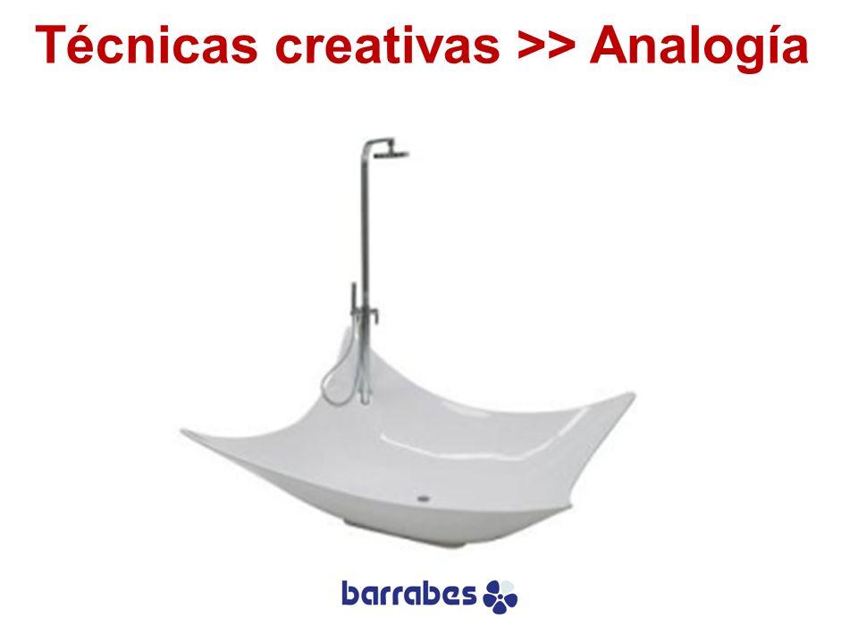 Técnicas creativas >> Analogía