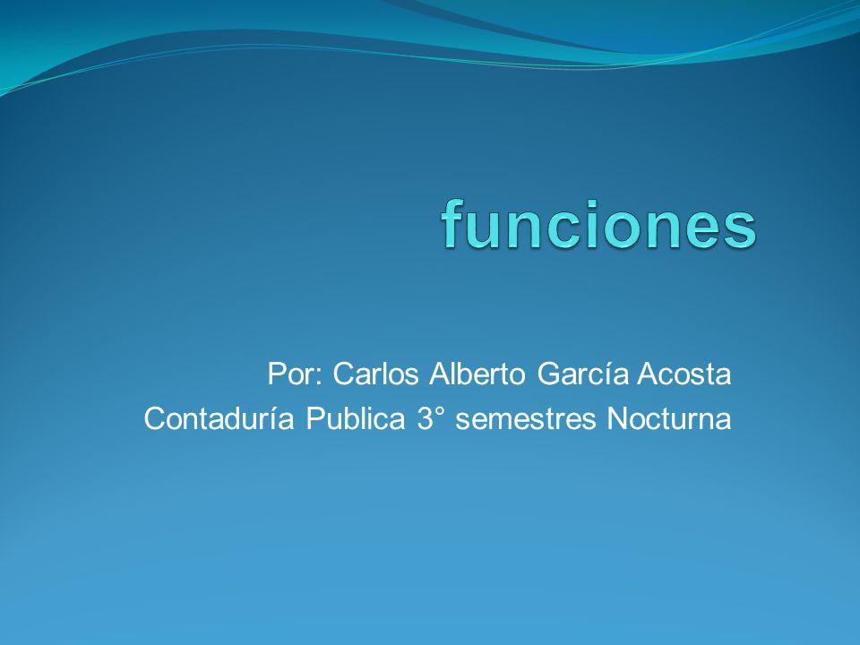 Por: Carlos Alberto García Acosta Contaduría Publica 3° semestres Nocturna