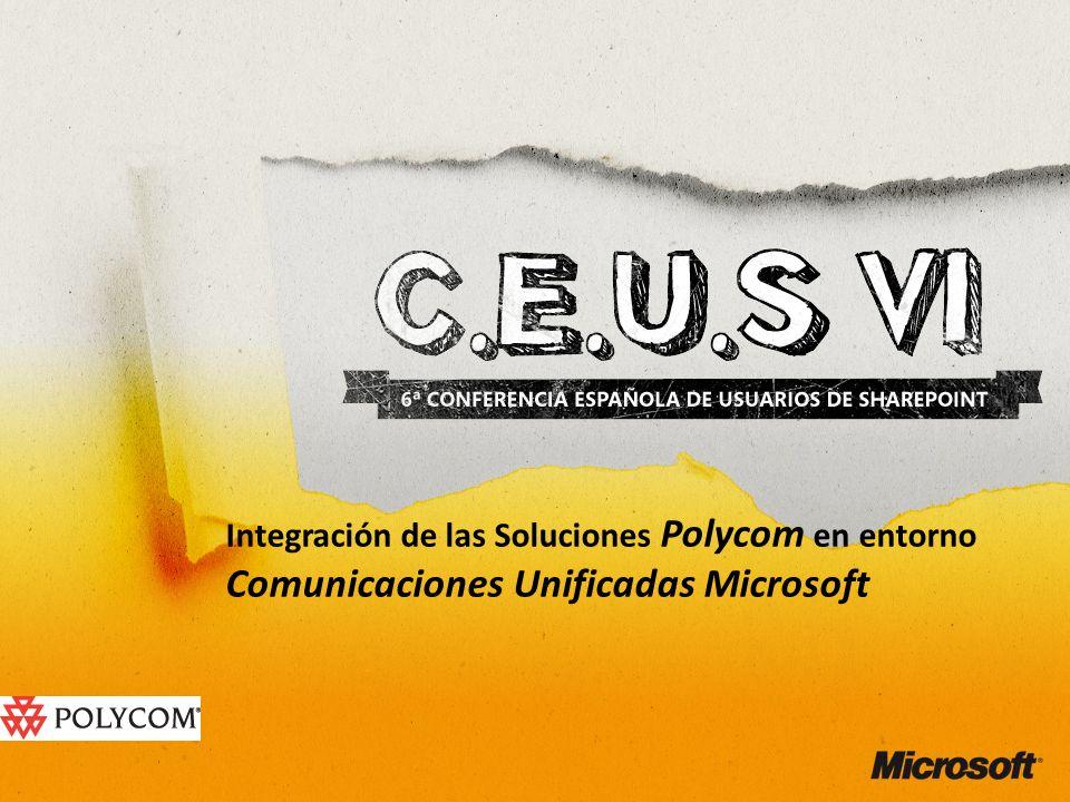 Integración de las Soluciones Polycom en entorno Comunicaciones Unificadas Microsoft