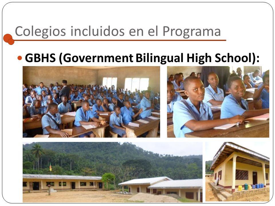 GBHS (Government Bilingual High School): Localidad: Widikum Escuela pública situada a las afueras del pueblo, a una hora andando por un camino de pied