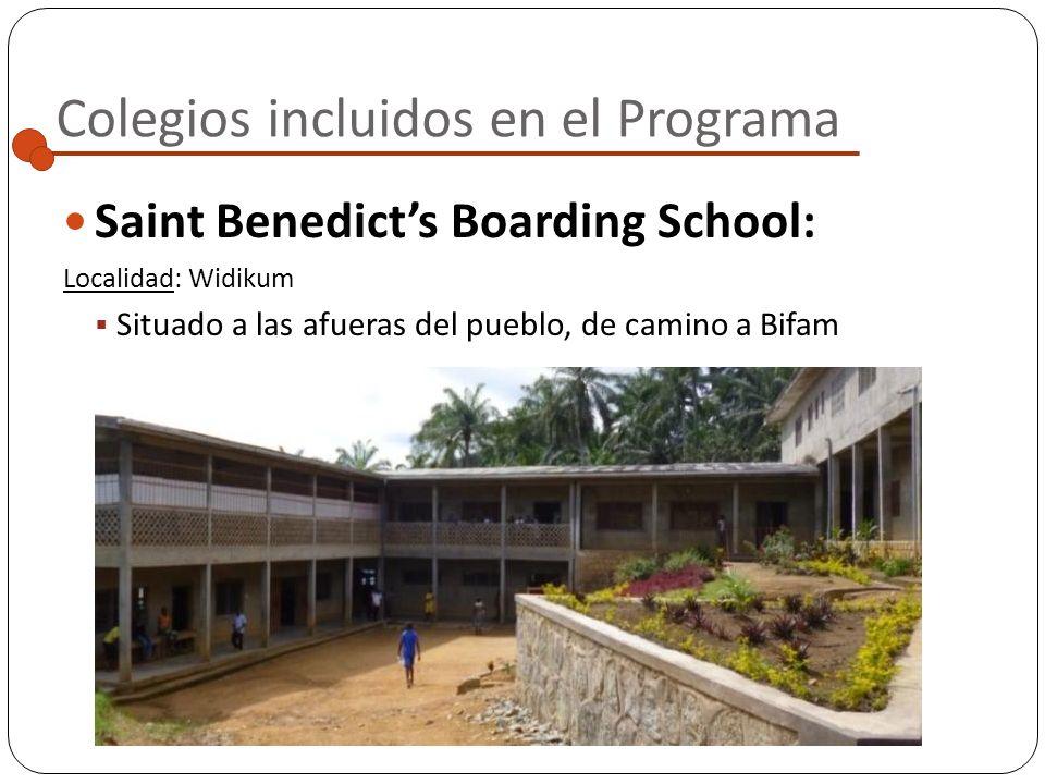 Colegios incluidos en el Programa GTHS (Government Technical High School): Localidad: Santá Situada en una localidad cercana a Widikum, a la que se pu
