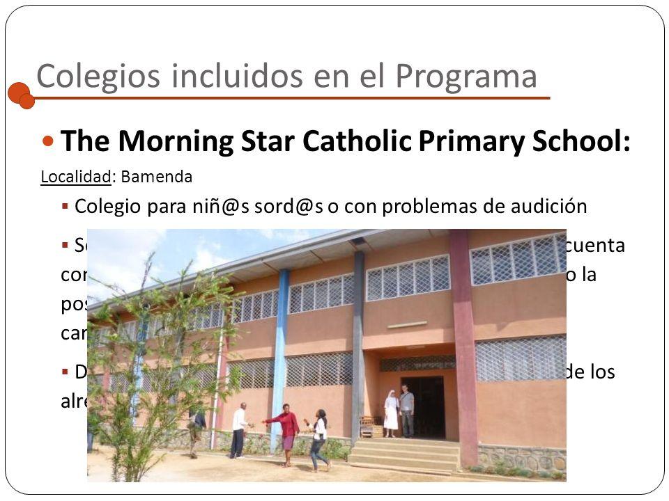 Colegios incluidos en el Programa Saint Benedicts Boarding School :