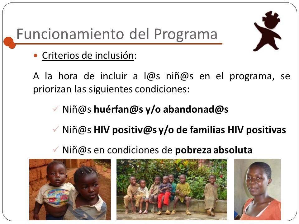 Descripción del Programa Datos de interés 1 : La tasa de natalidad de Camerún es tres veces mayor que en España o Francia El 40% de la población son <