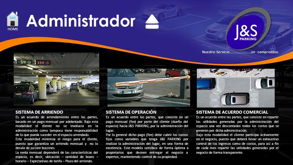 Administrador SISTEMA DE ARRIENDO Es un acuerdo de arrendamiento entre las partes, basado en un pago mensual por adelantado. Bajo esta modalidad el cl