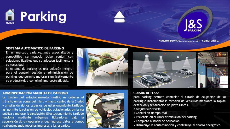 Parking GUIADO DE PLAZA para parking permite controlar el estado de ocupación de su parking e incrementar la rotación de vehículos mediante la rápida