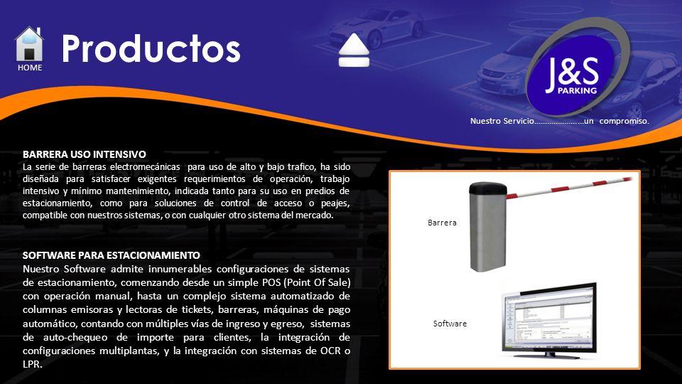 Productos BARRERA USO INTENSIVO La serie de barreras electromecánicas para uso de alto y bajo trafico, ha sido diseñada para satisfacer exigentes requ
