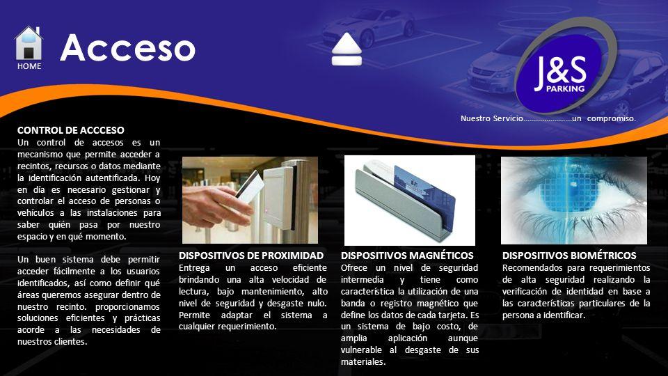 Acceso CONTROL DE ACCCESO Un control de accesos es un mecanismo que permite acceder a recintos, recursos o datos mediante la identificación autentific