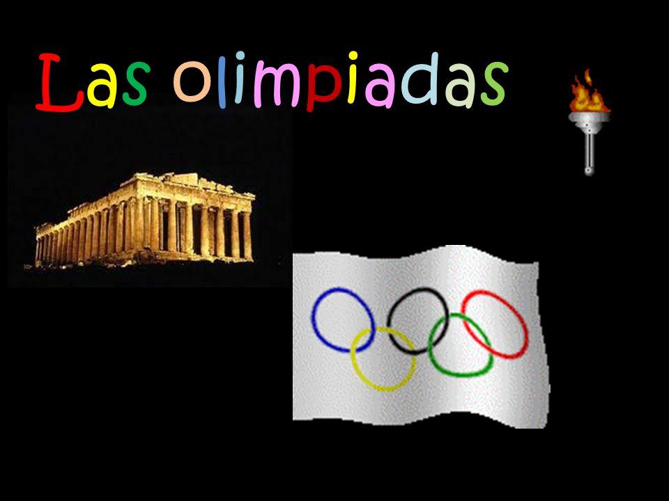 Las olimpiadasLas olimpiadas