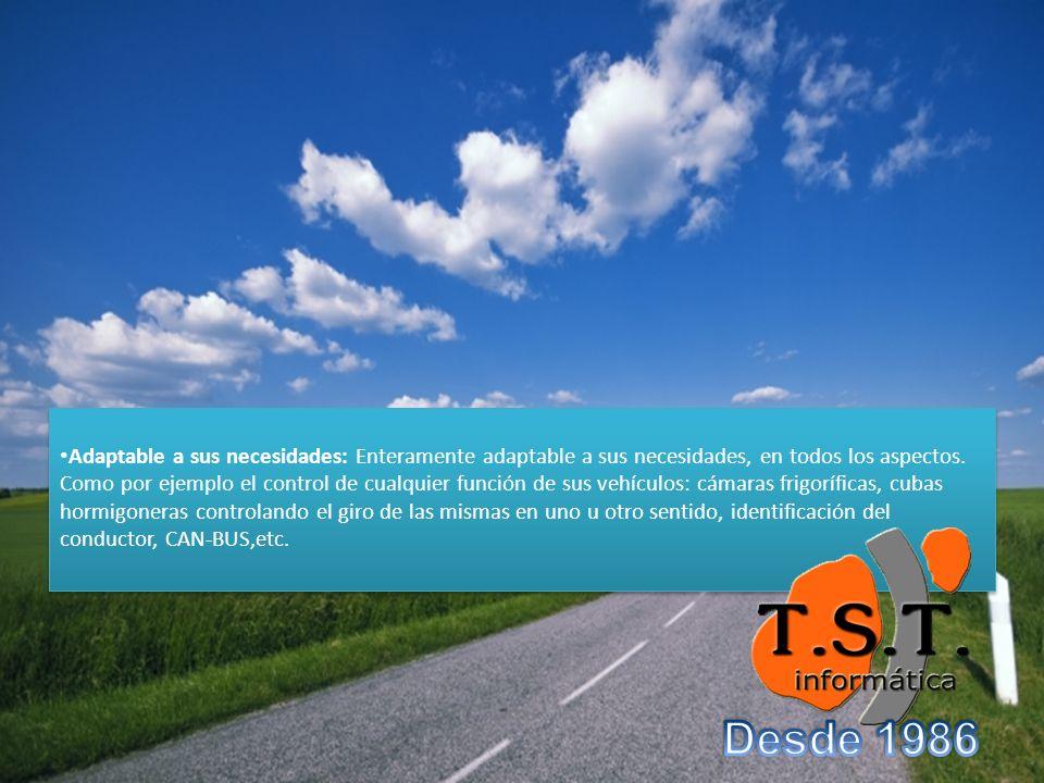 Adaptable a sus necesidades: Enteramente adaptable a sus necesidades, en todos los aspectos.
