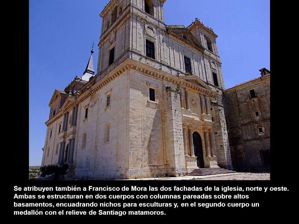 El arquitecto Francisco de Mora, maestro de obras reales, debió hacerse cargo de las obras del Monasterio de Uclés a finales del siglo XVI. Dio a la a