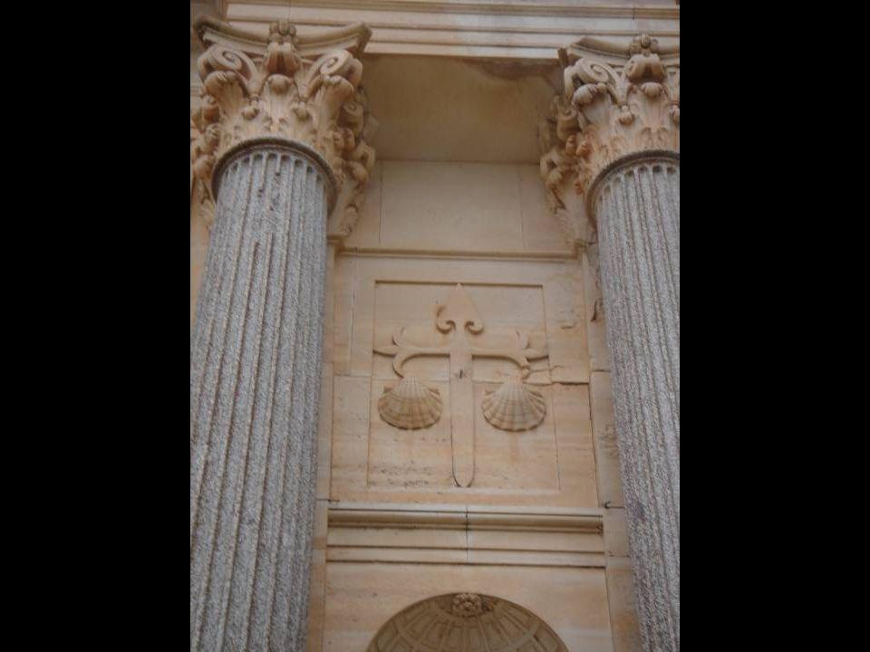 La contención y la elegancia clásica son los factores determinantes en la fachada oeste de la iglesia del monasterio de Uclés.