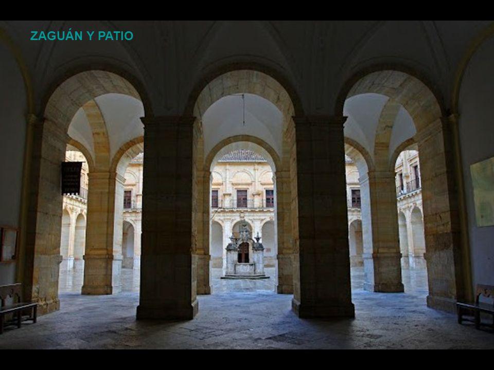 Pedro de Lizargárate continua las obras en el monasterio de Uclés a la muerte de Francisco de Mora en 1611. A él se deben en Uclés las dos sobrias fac