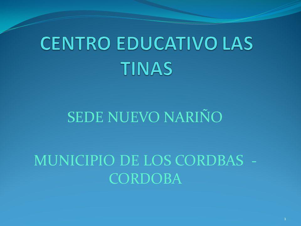 SEDE NUEVO NARIÑO MUNICIPIO DE LOS CORDBAS - CORDOBA 1