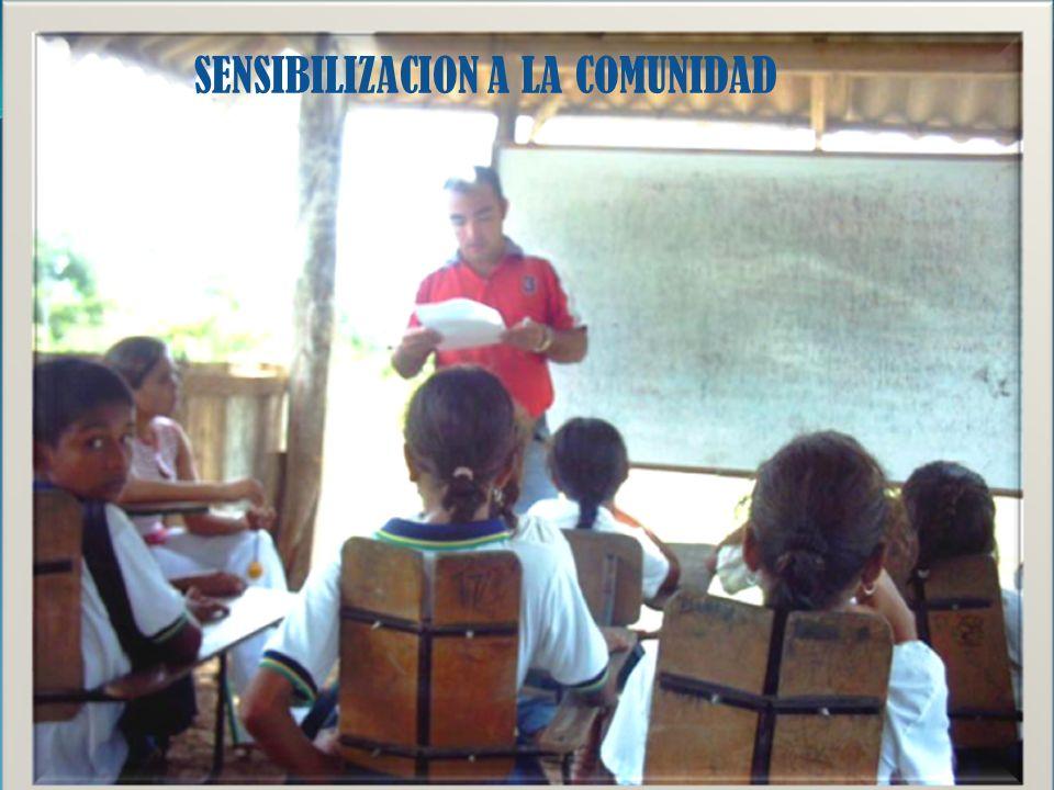 SENSIBILIZACION A LA COMUNIDAD