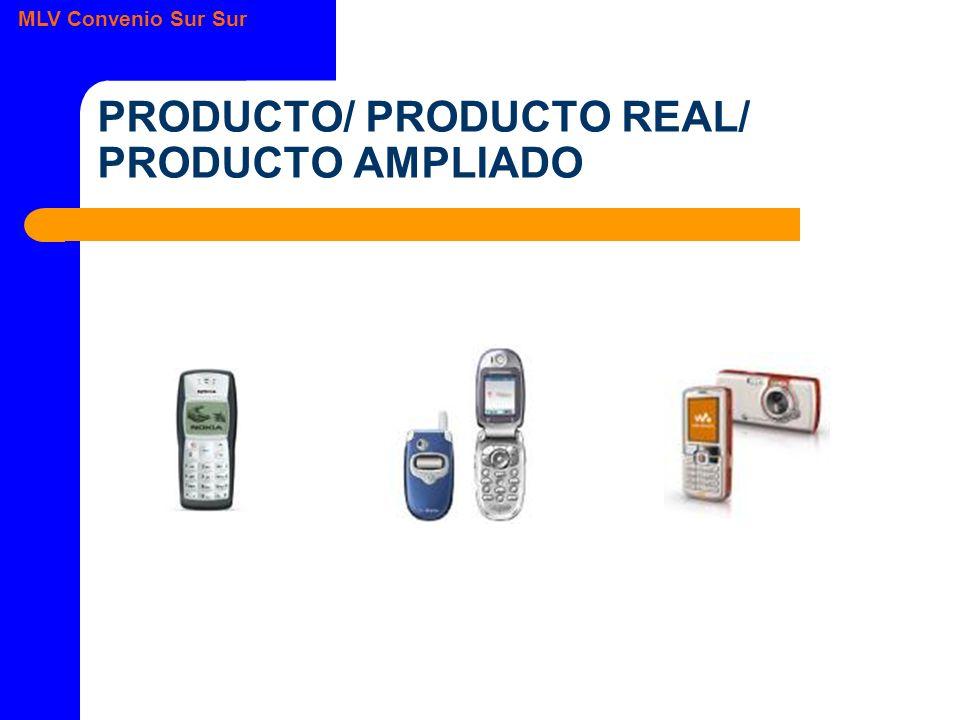 MLV Convenio Sur Sur PRODUCTO/ PRODUCTO REAL/ PRODUCTO AMPLIADO