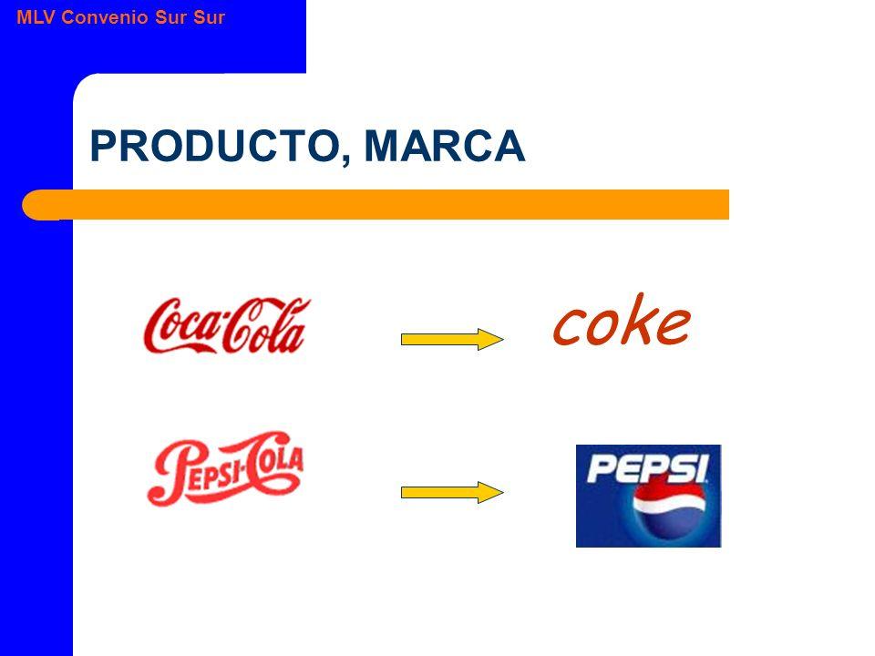MLV Convenio Sur Sur PRODUCTO, MARCA coke