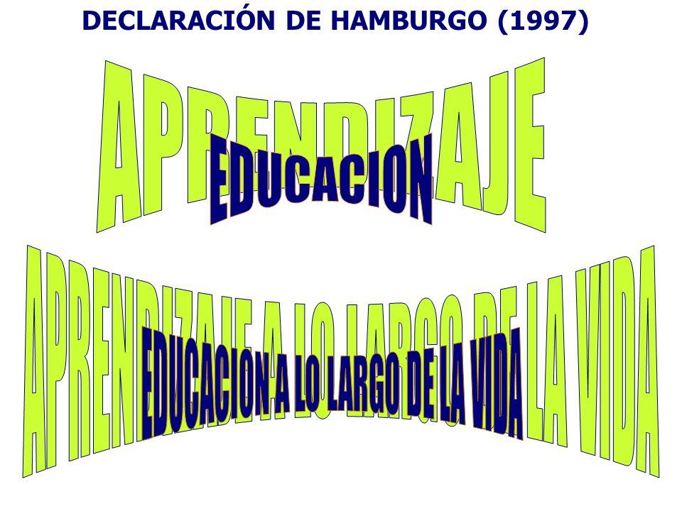 DECLARACIÓN DE HAMBURGO (1997)