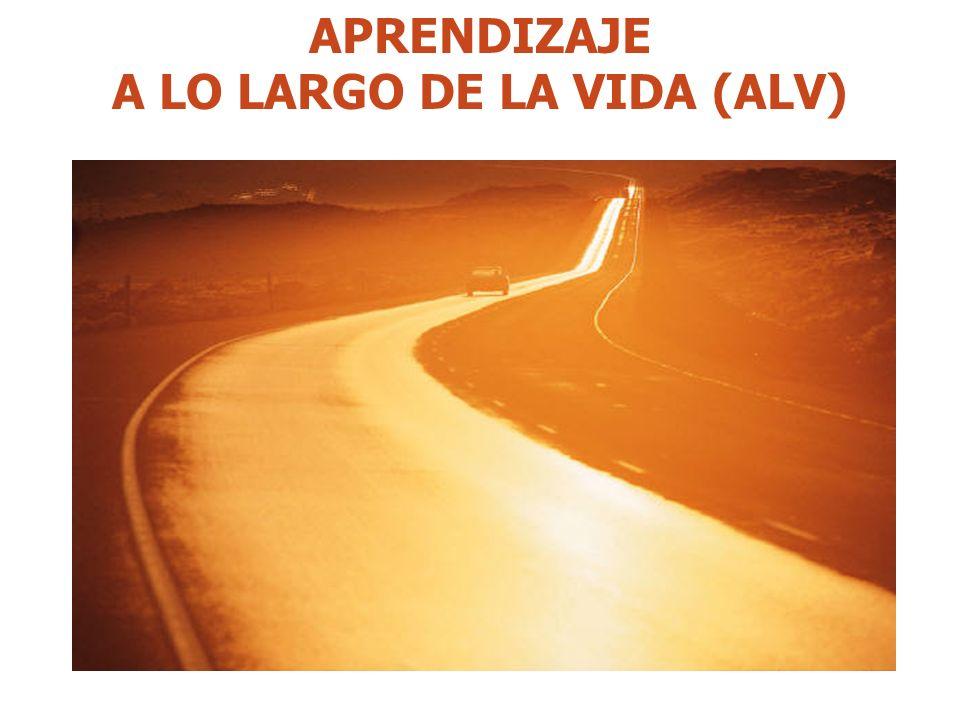 APRENDIZAJE A LO LARGO DE LA VIDA (ALV)
