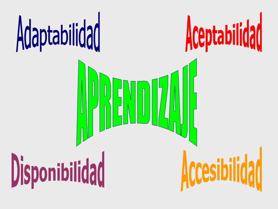 Sinergia a todos los niveles Diversificaci ó n Flexibilidad Personalizaci ó n (diferente de individualizaci ó n) No individuos aislados sino grupos y comunidades de aprendizaje Acceso y uso colectivo de los recursos implica