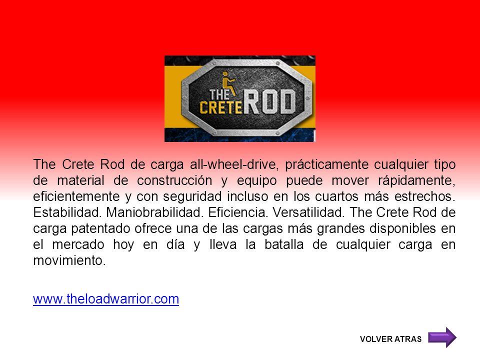 The Crete Rod de carga all-wheel-drive, prácticamente cualquier tipo de material de construcción y equipo puede mover rápidamente, eficientemente y co