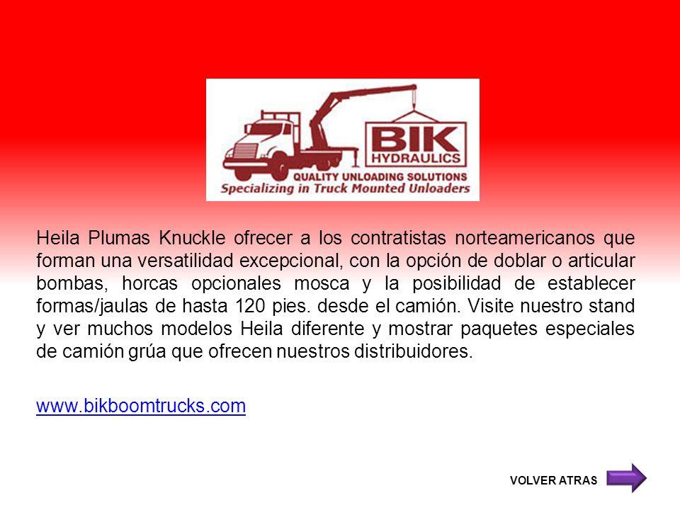Heila Plumas Knuckle ofrecer a los contratistas norteamericanos que forman una versatilidad excepcional, con la opción de doblar o articular bombas, h