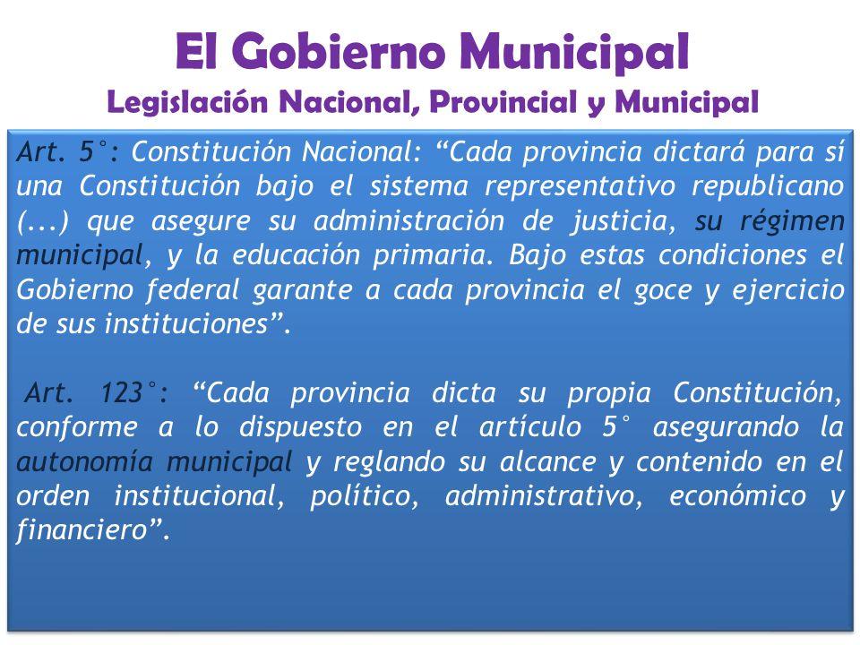 EL GOBIERNO MUNICIPAL Municipalidad de GODOY CRUZ