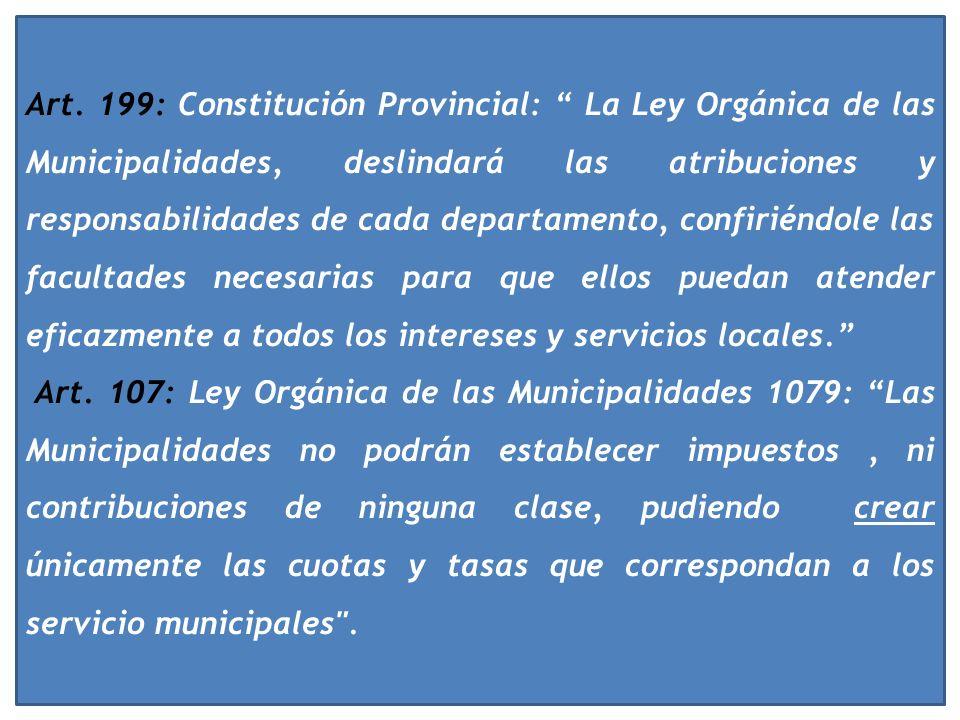 Art. 5°: Constitución Nacional: Cada provincia dictará para sí una Constitución bajo el sistema representativo republicano (...) que asegure su admini