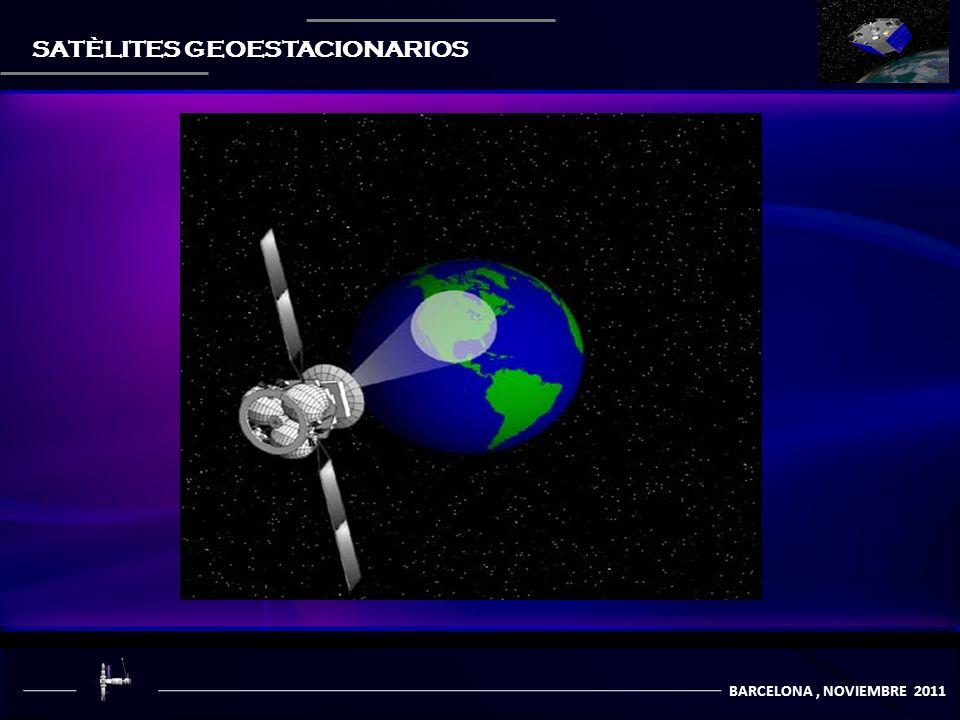 BARCELONA, NOVIEMBRE 2011 SATÈLITES GEOESTACIONARIOS