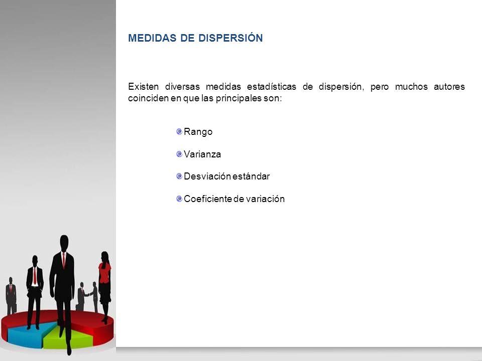 Es una medida de dispersión que se utiliza para poder comparar las desviaciones estándar de poblaciones con diferentes medias y se calcula como cociente entre la desviación típica y la media.